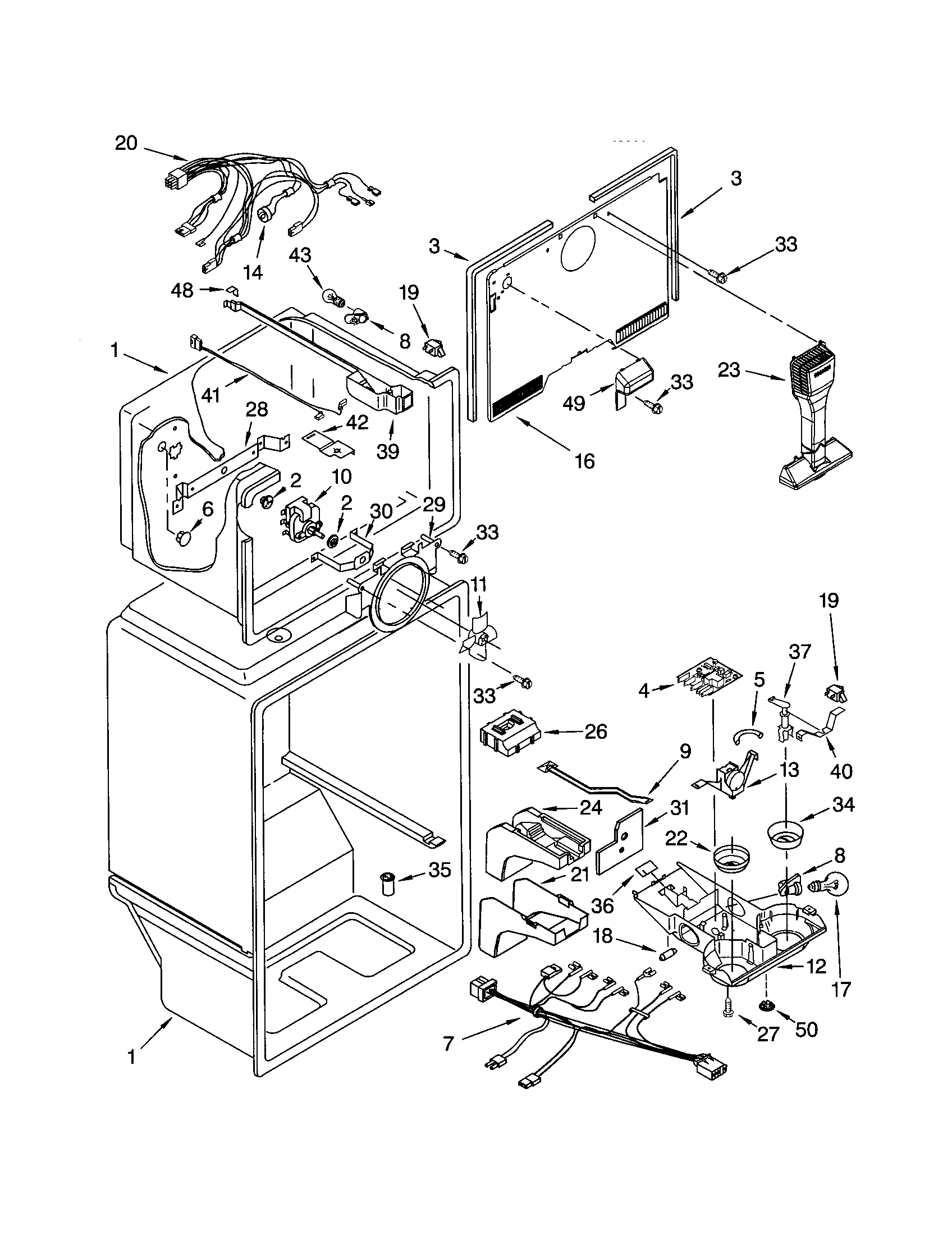 kenmore 106 refrigerator parts diagram pioneer 16 pin wiring i have a up and downer it does not work