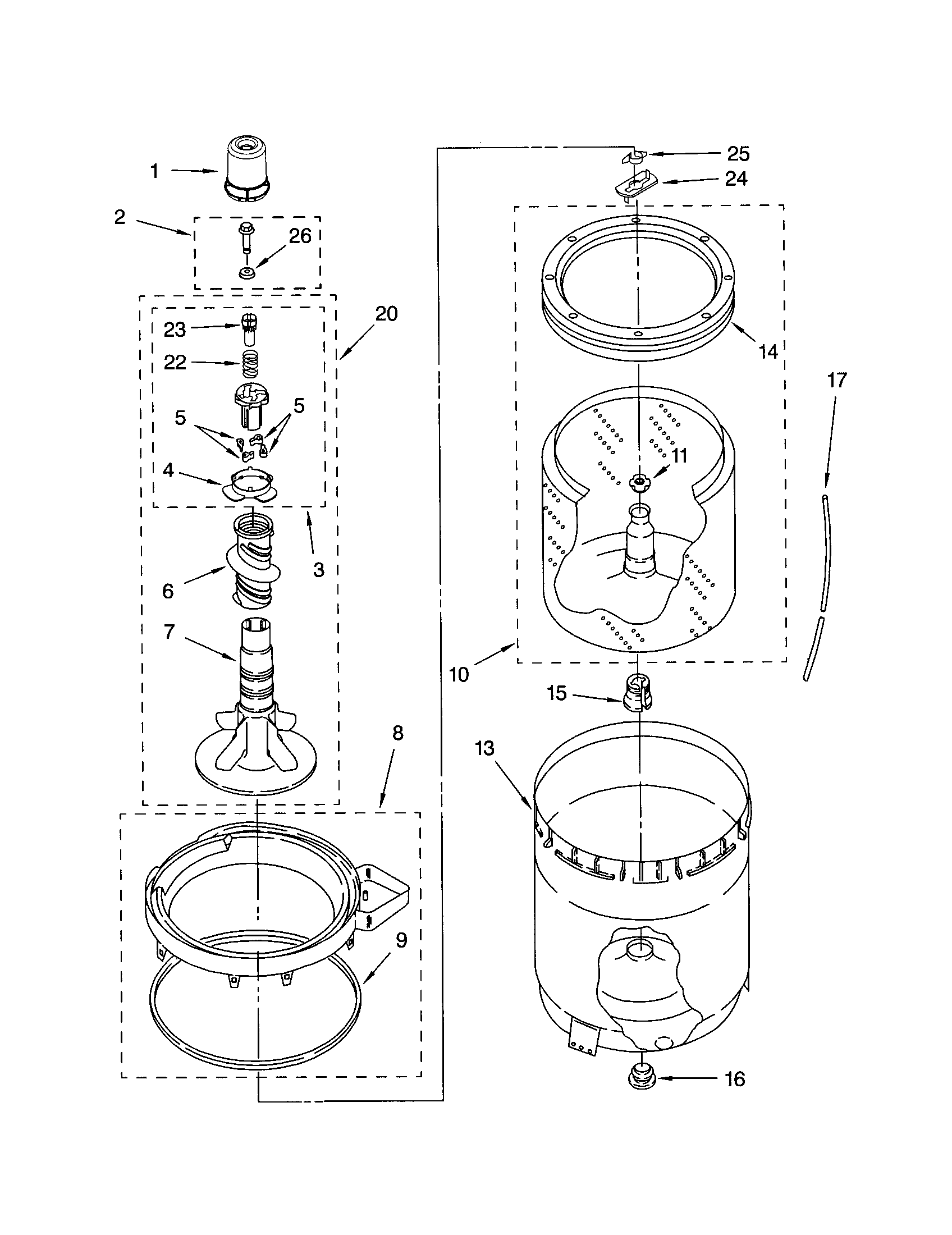 Kenmore 80 Series Washer Parts Diagram Furthermore Kenmore