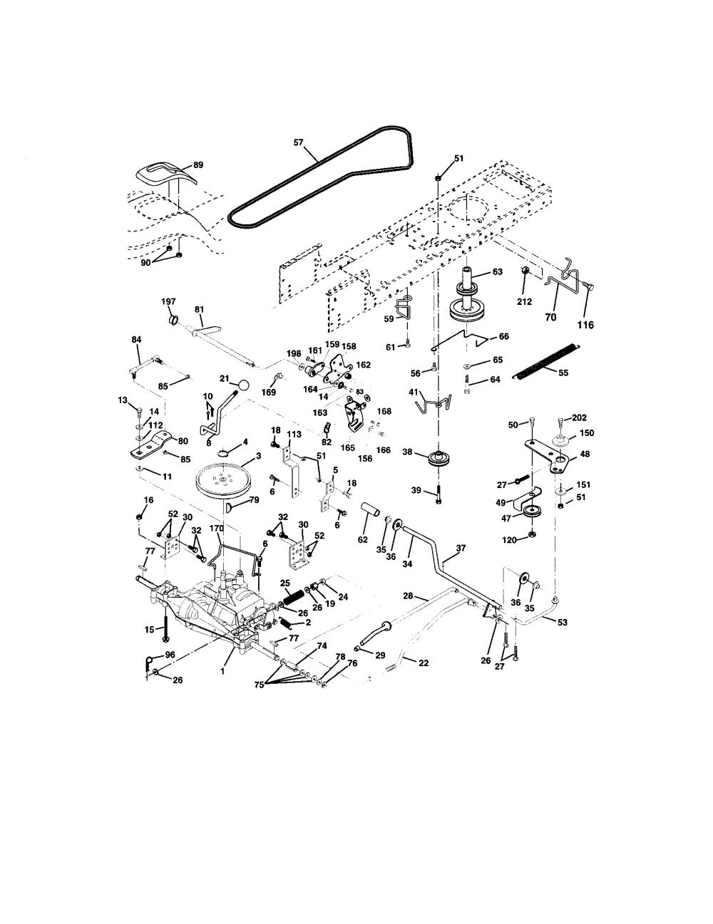 medium resolution of craftsman lt1000 belt diagram furthermore craftsman mower deck diagram