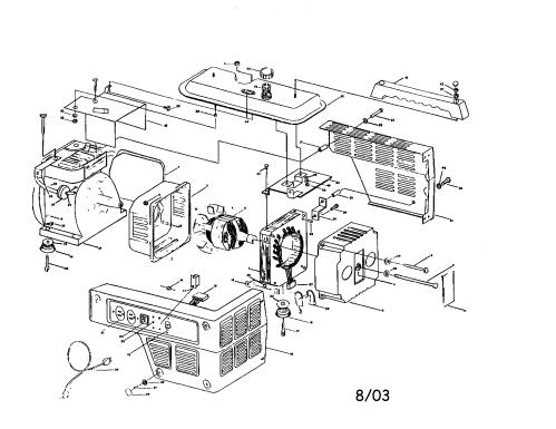 small resolution of coleman model pm800 generator genuine parts rh searspartsdirect com coleman generator engine wiring schematic coleman generator