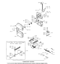 delta 9 band saw motor wiring frame wheel parts model bs100 [ 1696 x 2200 Pixel ]