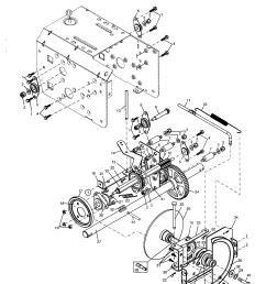 poulan pp524a drive diagram [ 1696 x 2200 Pixel ]
