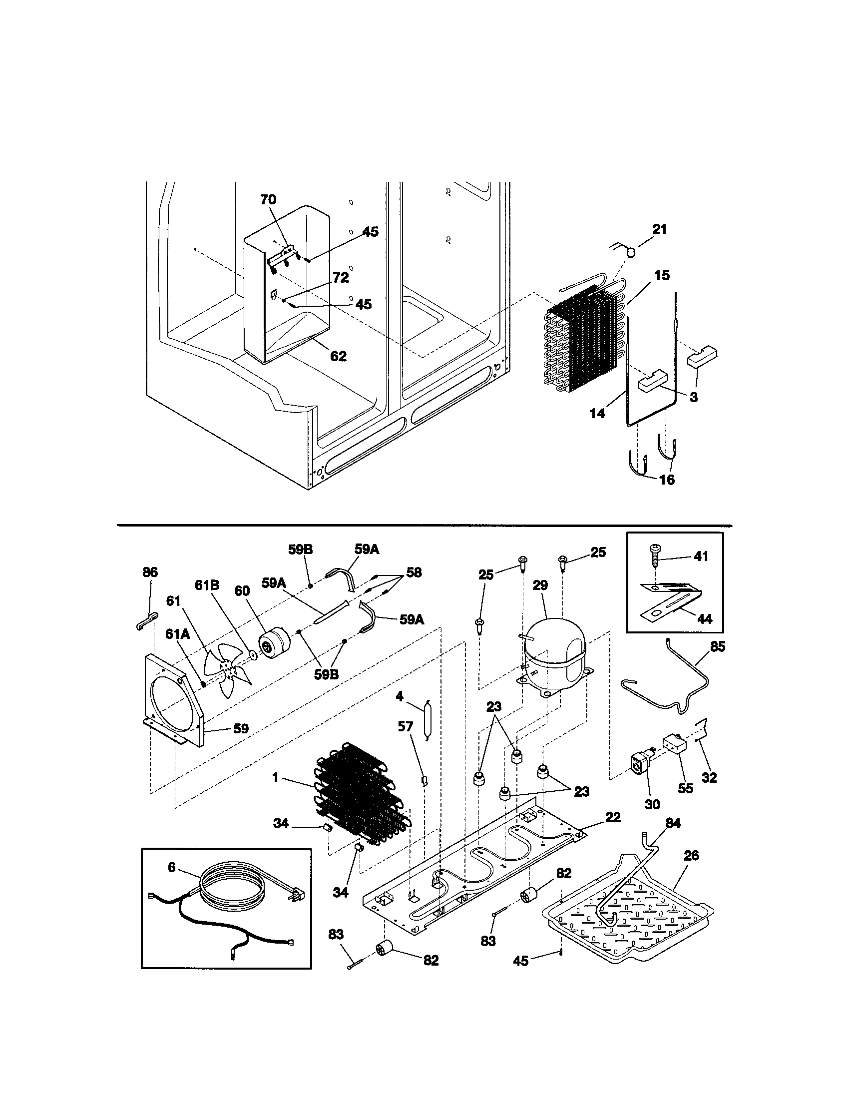 kenmore refrigerator wiring diagram manuals