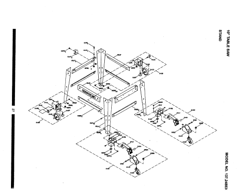 small resolution of wiring diagram for craftsman table saw 137 248830