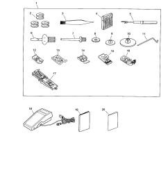 kenmore 38516221300 accessories foot control diagram [ 1696 x 2200 Pixel ]