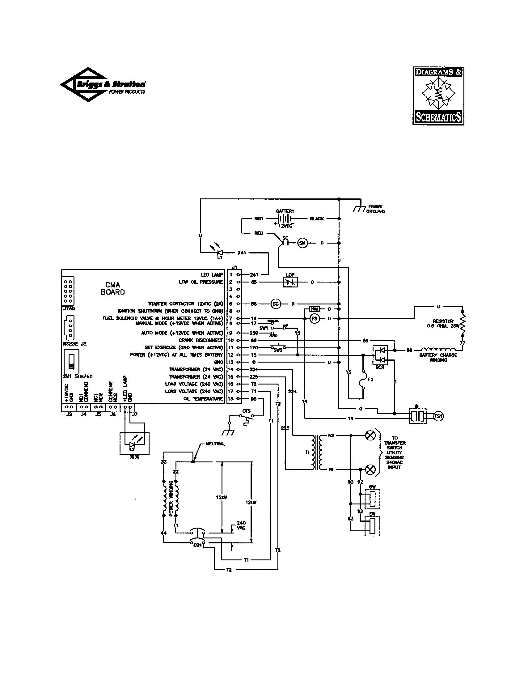 UNIT SCHEMATIC DIAGRAM Diagram & Parts List for Model