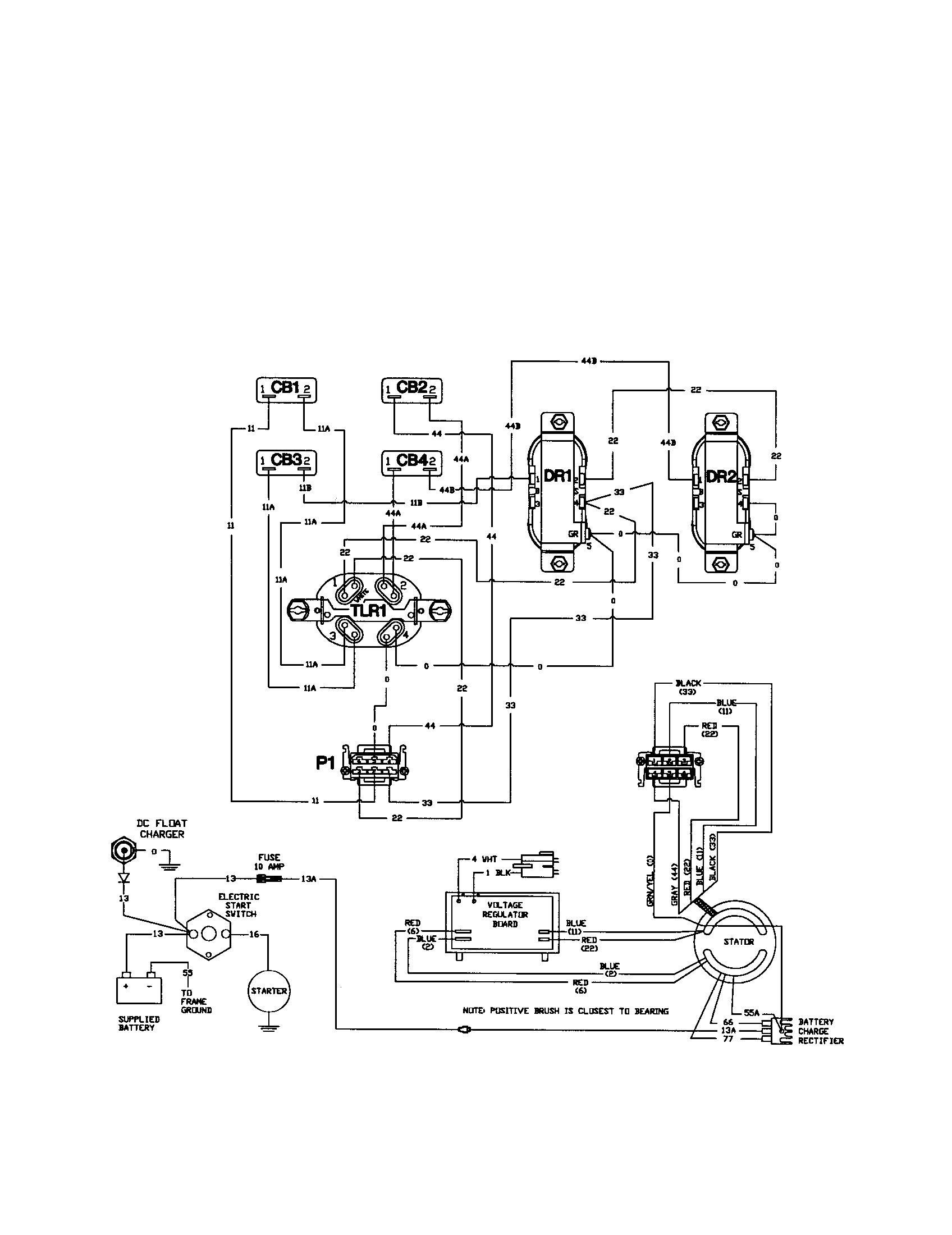 WIRING DIAGRAM Diagram & Parts List for Model 01893 BRIGGS