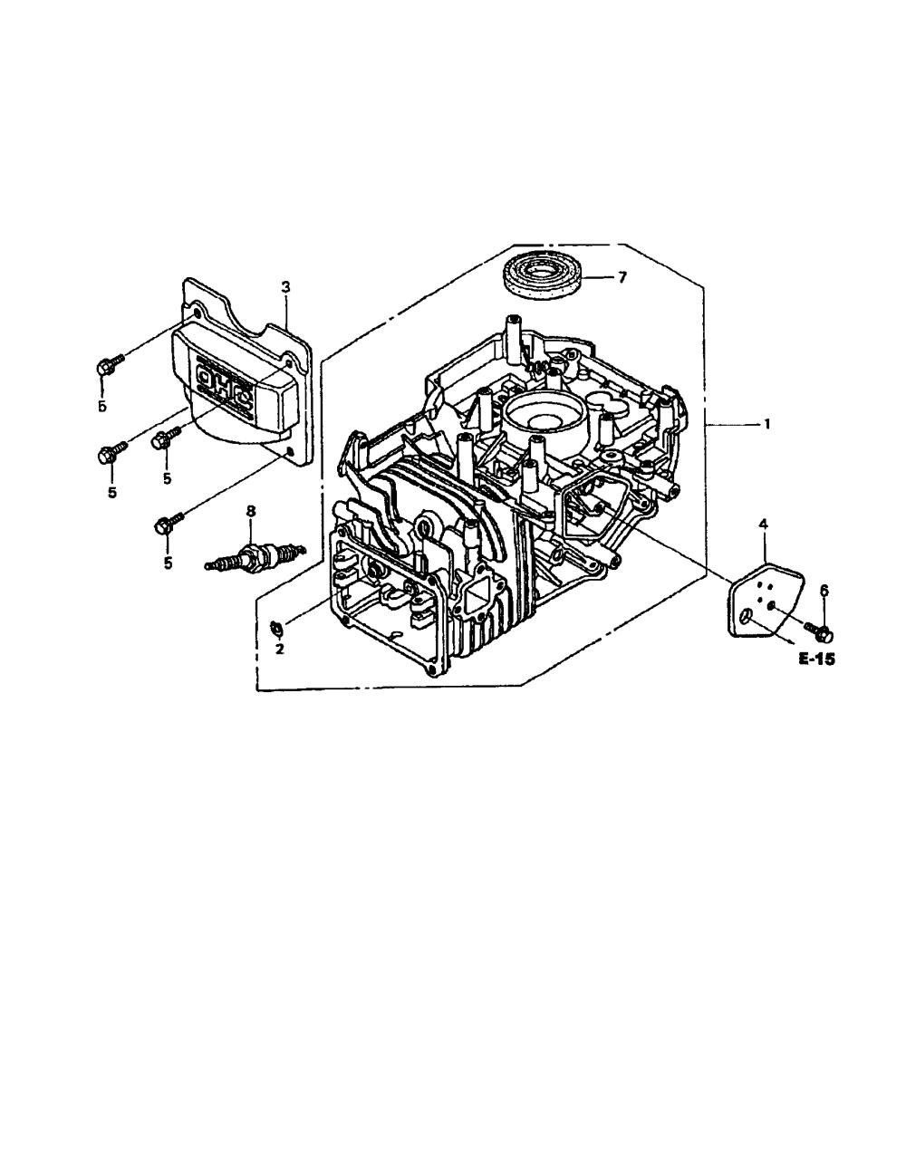 medium resolution of honda gcv 190 as3a cylinder barrel diagram