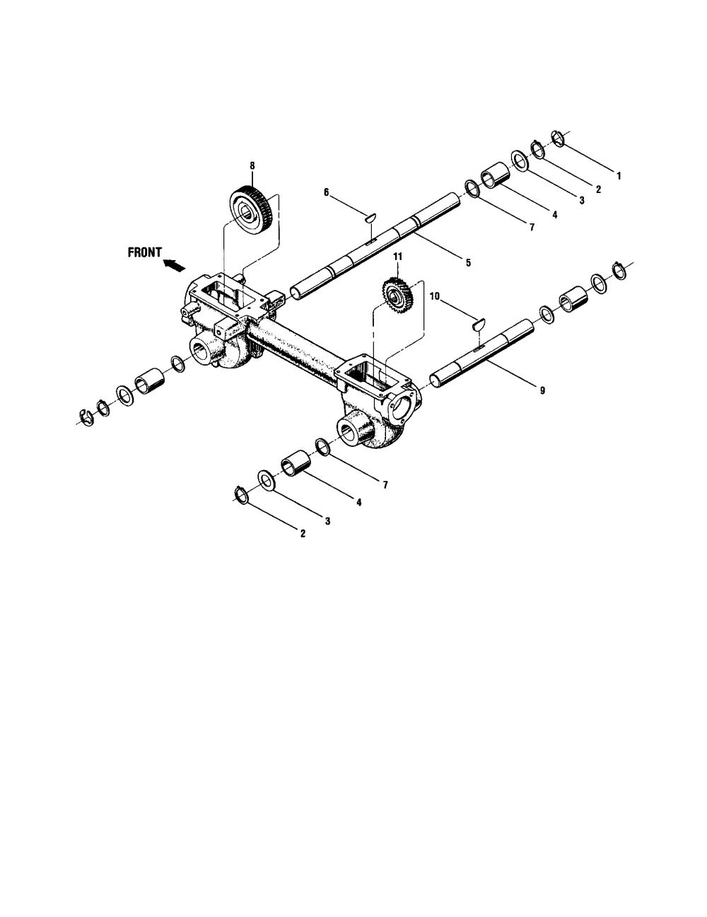 medium resolution of ctr troy bilt bronco tiller diagram