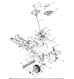 mtd 609 steering wheel wheel assembly diagram [ 1737 x 2233 Pixel ]