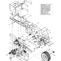 Mtd Lawn Mower Belt Diagram Land Rover Discovery Parts Drive Autos Post