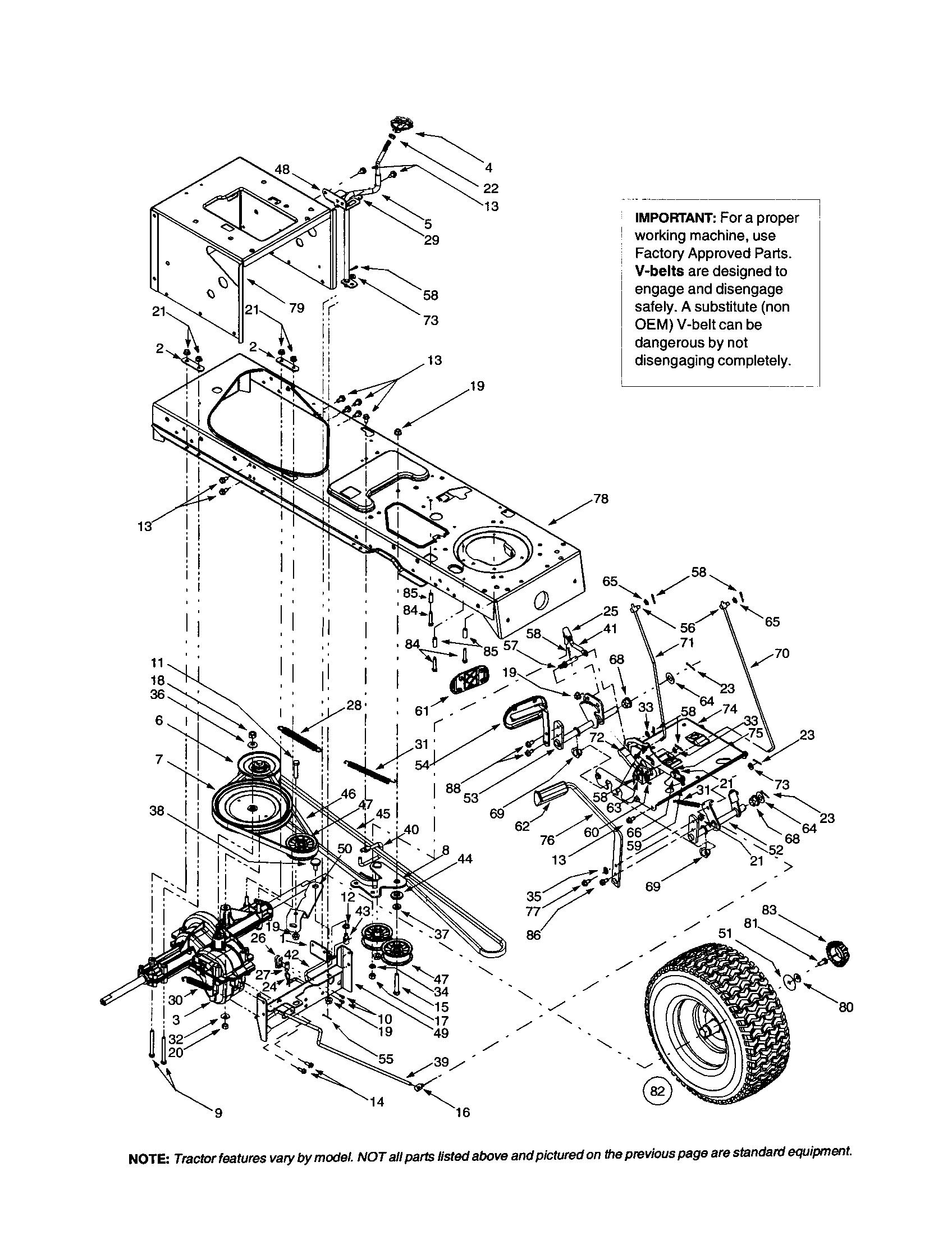 small resolution of mtd 607 frame drive belt transmission diagram