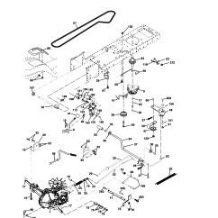 Husqvarna Lawn Tractor Parts Diagram 2016 Mercedes Sprinter Radio Wiring Drive And List For Model Yth2148
