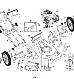 husqvarna 5521chvb engine housing handle wheels diagram [ 2200 x 1696 Pixel ]