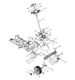 troybilt 13ap609g063 steering wheels diagram [ 1696 x 2200 Pixel ]