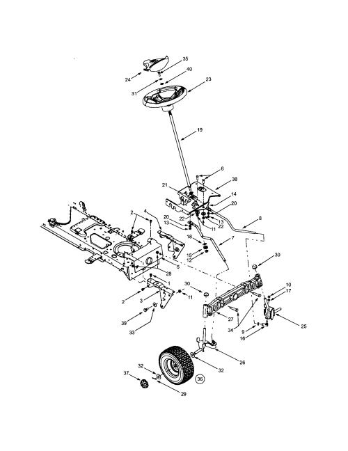 small resolution of troybilt 13ap609g063 steering wheels diagram