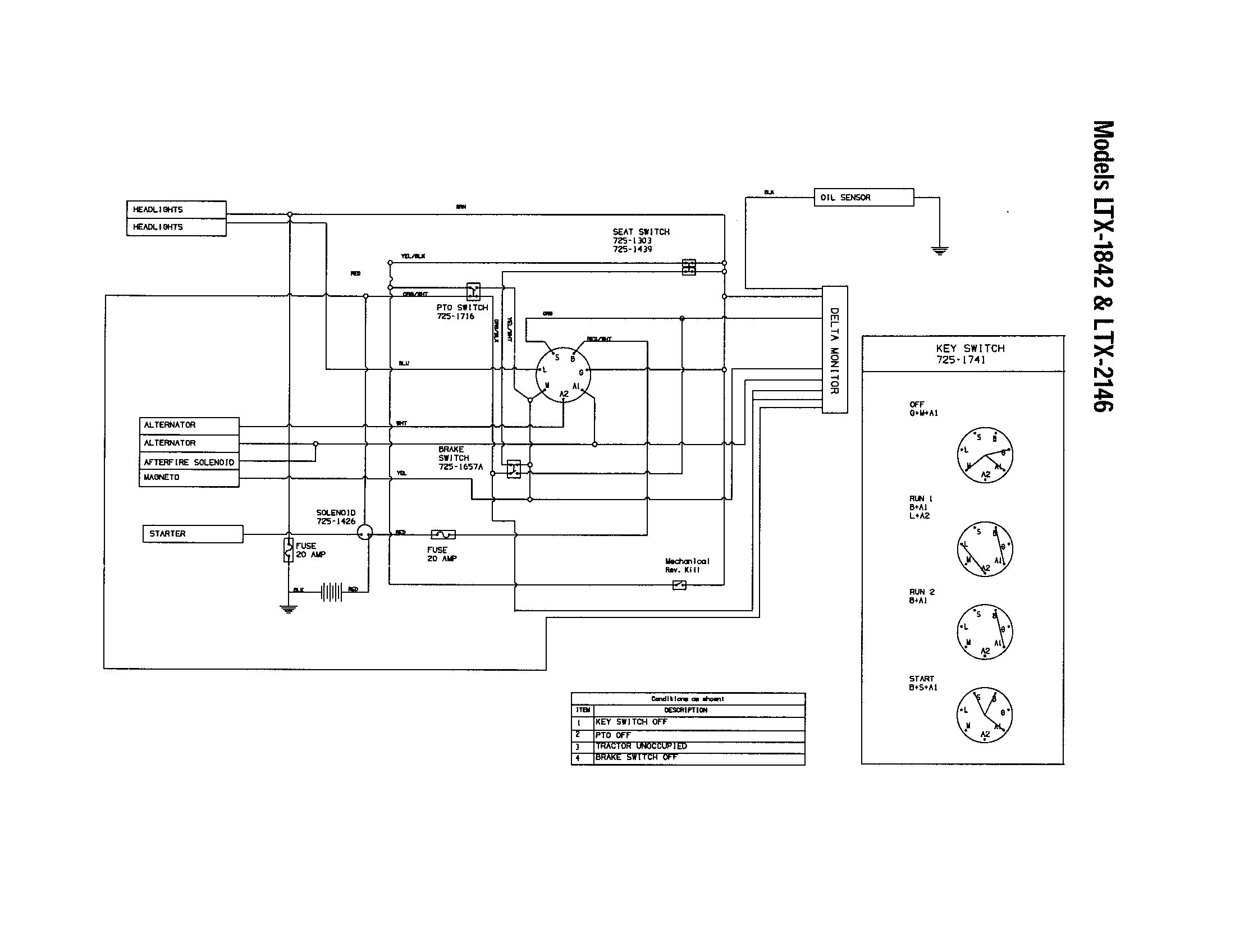 medium resolution of toro timecutter 42 wiring diagram