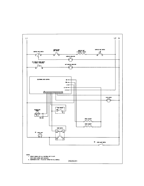 small resolution of kenmore range wiring diagram