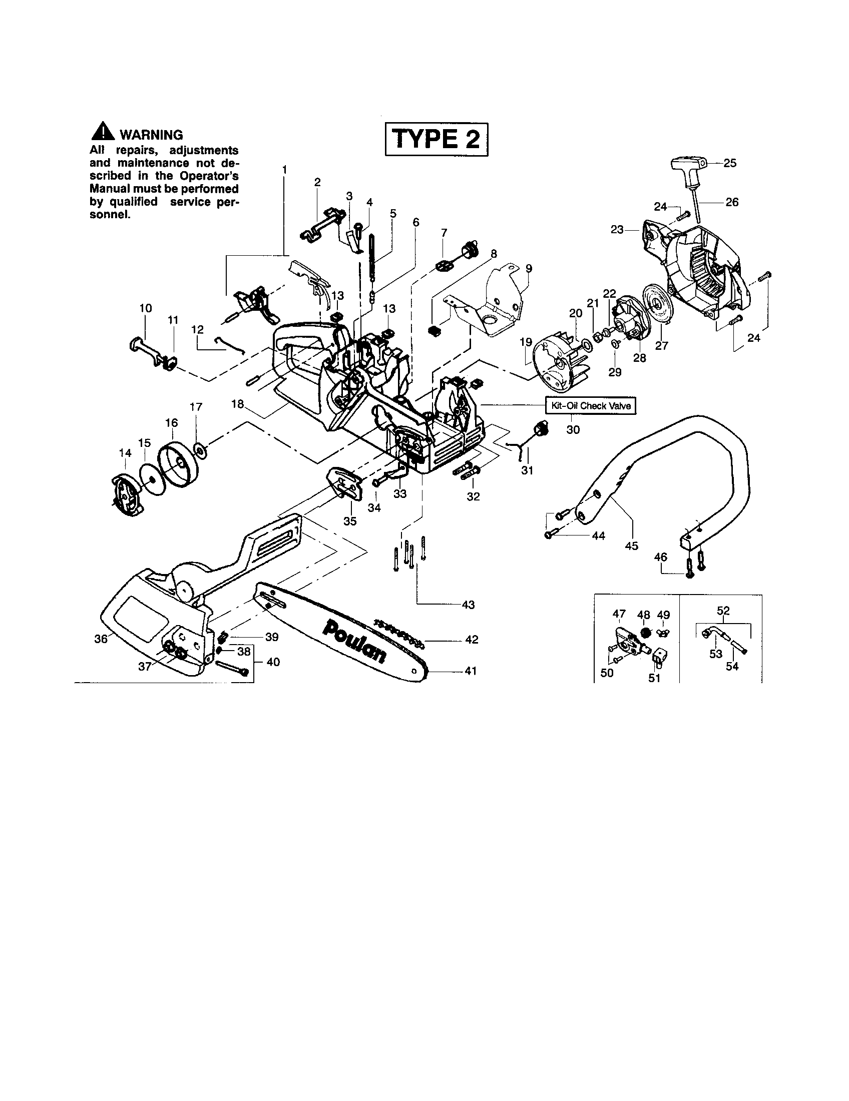 poulan 2150 fuel line diagram 1974 toyota land cruiser wiring schematic free engine image