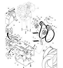 husqvarna 10527ste chassis engine pulleys diagram [ 1696 x 2200 Pixel ]