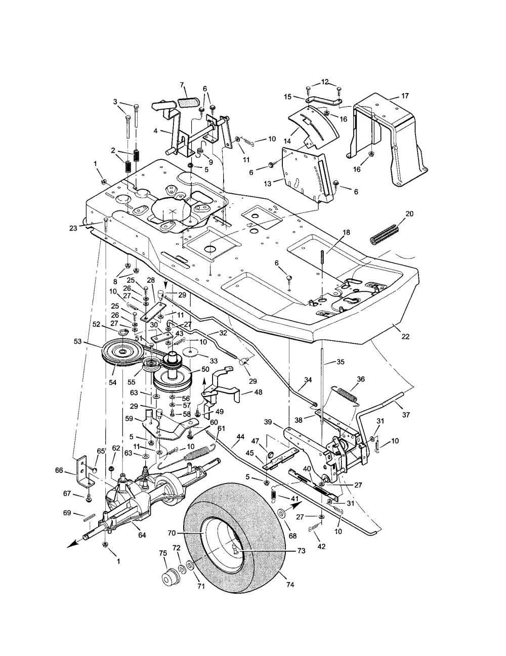 medium resolution of looking for murray model 30550h rear engine riding mower repair need a diagram to replace the belt on a murray riding lawn
