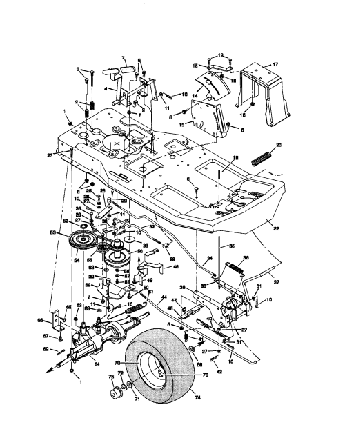 small resolution of murray riding mower diagram