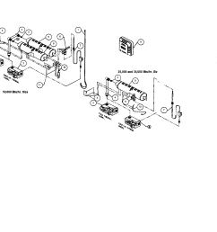 williams 3509622 burner orifice valve manifold diagram [ 2200 x 1696 Pixel ]