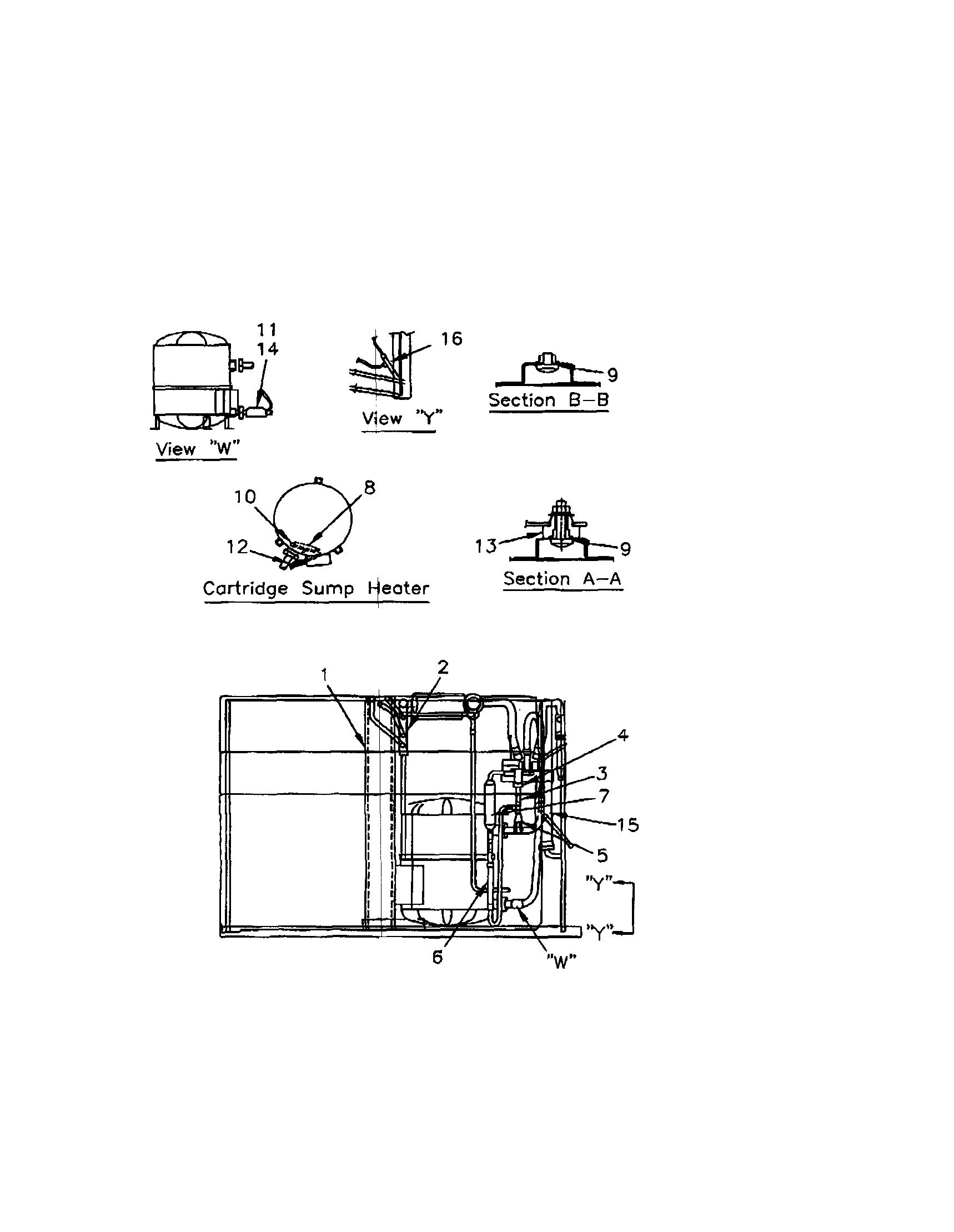 Trane Heat Pump Wiring Diagram Schematic