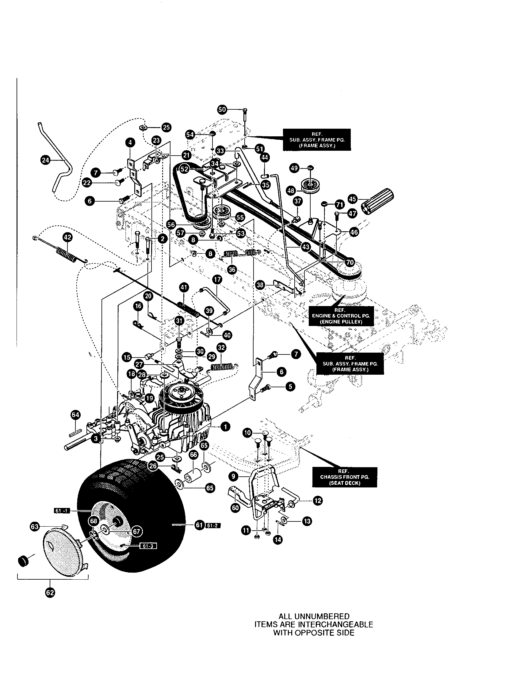 yard king lawn mower parts diagram yard free engine