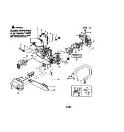 craftsman 358360180 housing chain bar handle diagram [ 1696 x 2200 Pixel ]