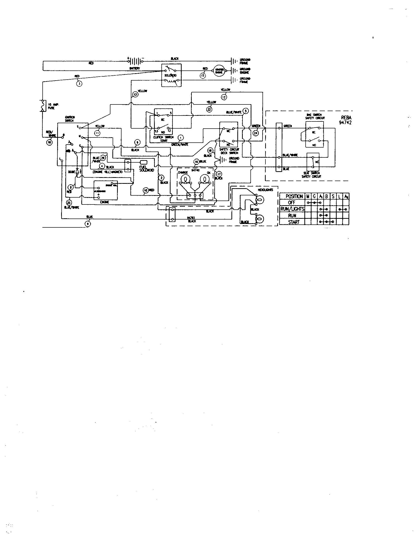 hight resolution of yard king 50562x89 schematic wiring diagram