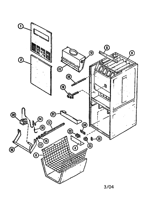 small resolution of intertherm furnace part diagram