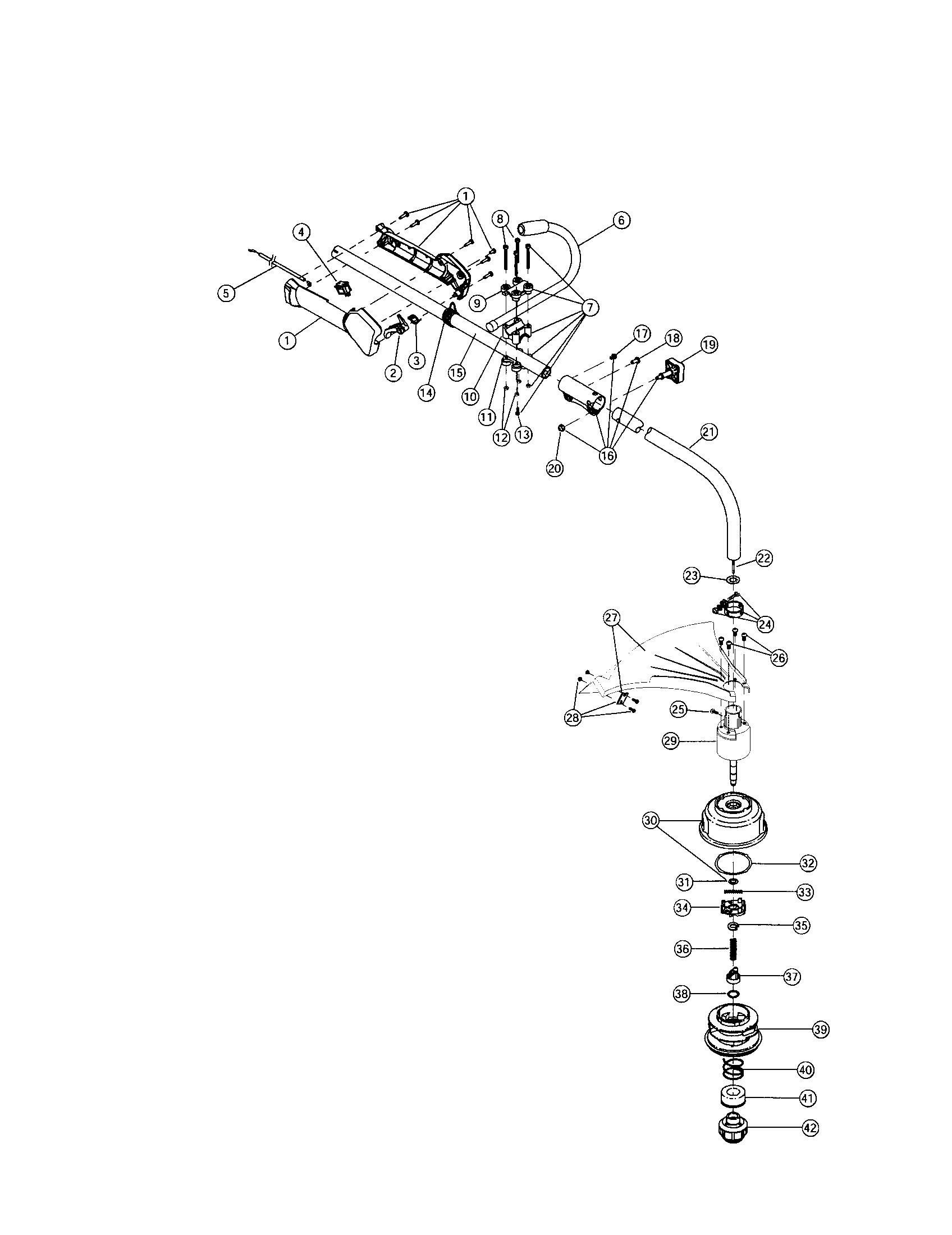 Ryobi 26cc Fuel Line Diagram Ryobi 725R Replacement Parts