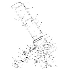 Bolens Lawn Tractor Parts Diagram 1994 Ford Ranger Xlt Radio Wiring Mower Model 084 Sears Partsdirect