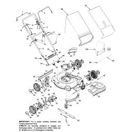 bolens 446 21 rear discharge mower diagram [ 1696 x 2200 Pixel ]
