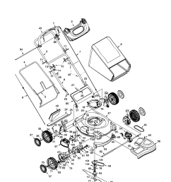troybilt 12a 466n063 21 3 in 1 smart speed mower diagram [ 1696 x 2200 Pixel ]