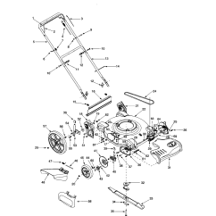 Bolens Lawn Tractor Parts Diagram Bt Master Socket Extension Wiring Mower Model 12a526l163 Sears Partsdirect