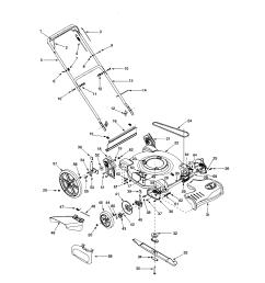 bolens 12a 526l163 self propelled mower diagram [ 1696 x 2200 Pixel ]