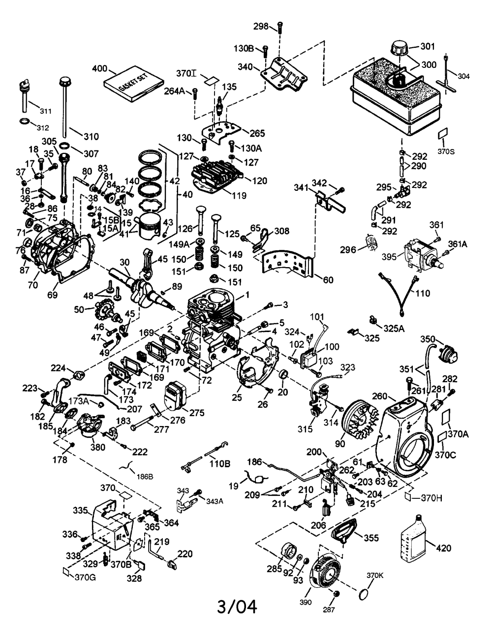 medium resolution of tecumseh hmsk80 155719x engine diagram