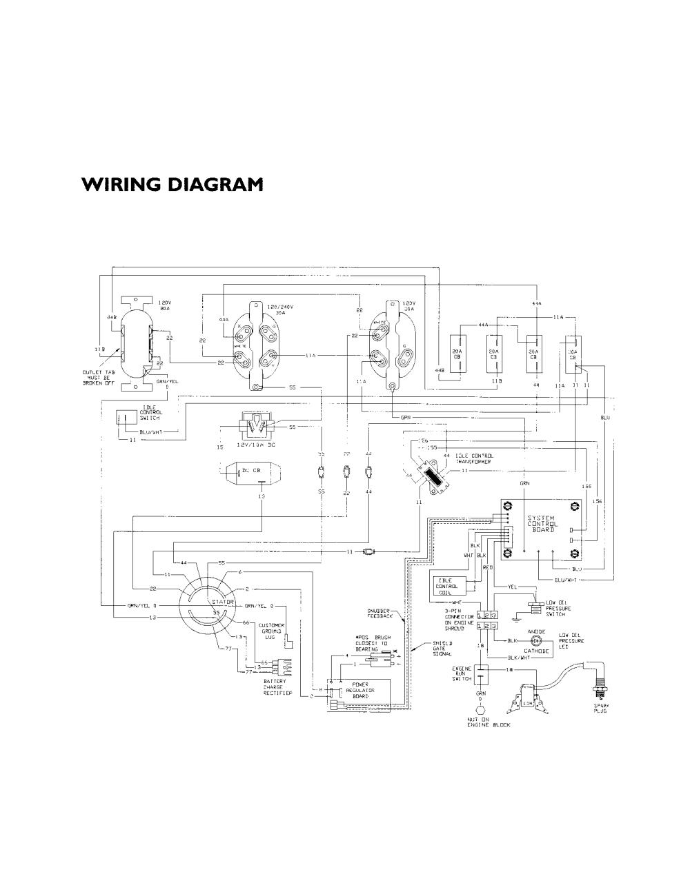 medium resolution of generac 4000exl wiring schematic