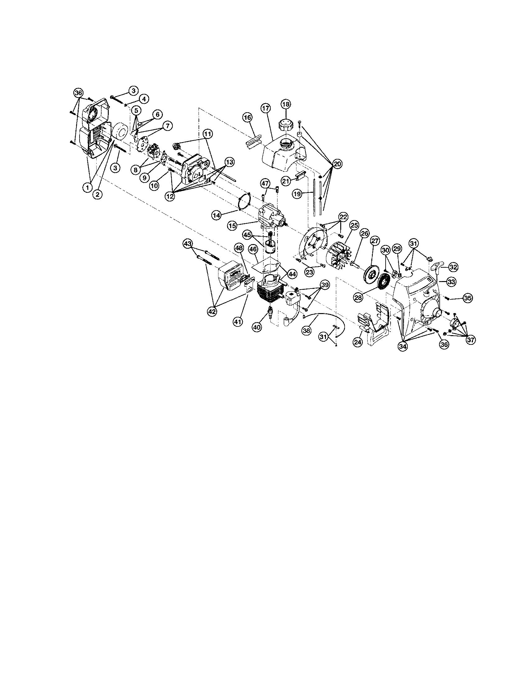 hight resolution of ryobi engine diagram
