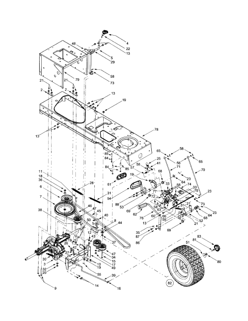 small resolution of mtd 609 drive assembly diagram