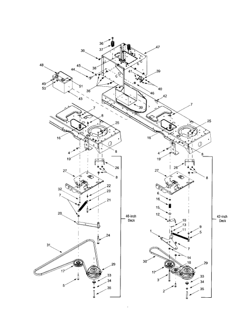 small resolution of mtd 609 frame with electric pto diagram