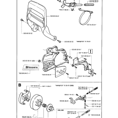 Husqvarna 235 Chainsaw Parts Diagram Honda Motorcycle Stator Wiring Schematic Library Model 345 Gas Genuine