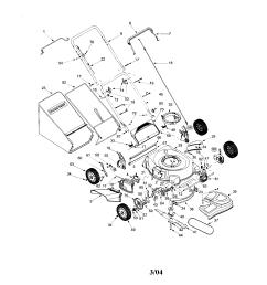 troybilt 12a 466a766 lawnmower diagram [ 1696 x 2200 Pixel ]
