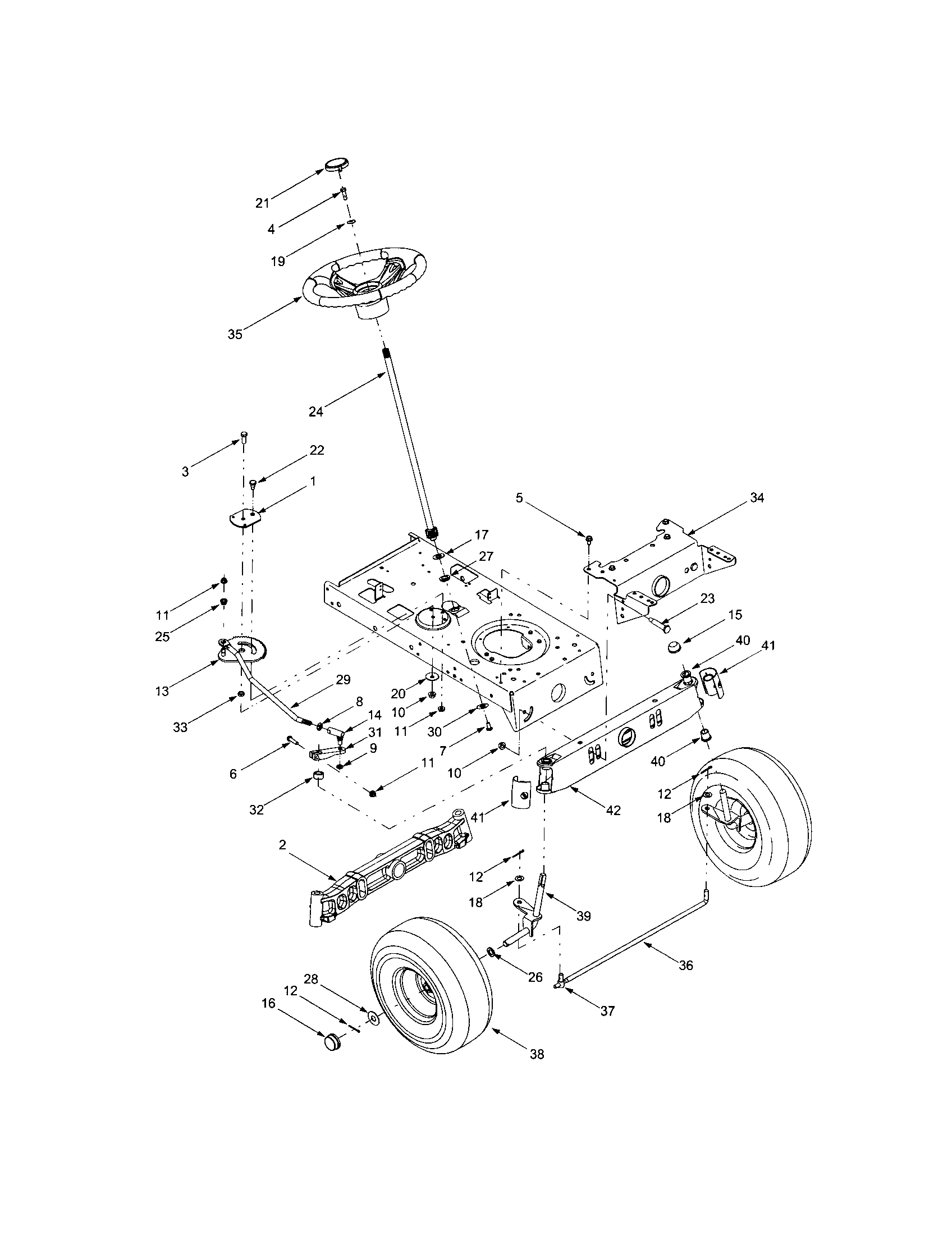 2004 Chevrolet Malibu Steering Column Parts Diagram