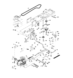 looking for craftsman model 917273643 front engine lawn tractor craftsman dyt 4000 transmission diagram [ 1696 x 2200 Pixel ]