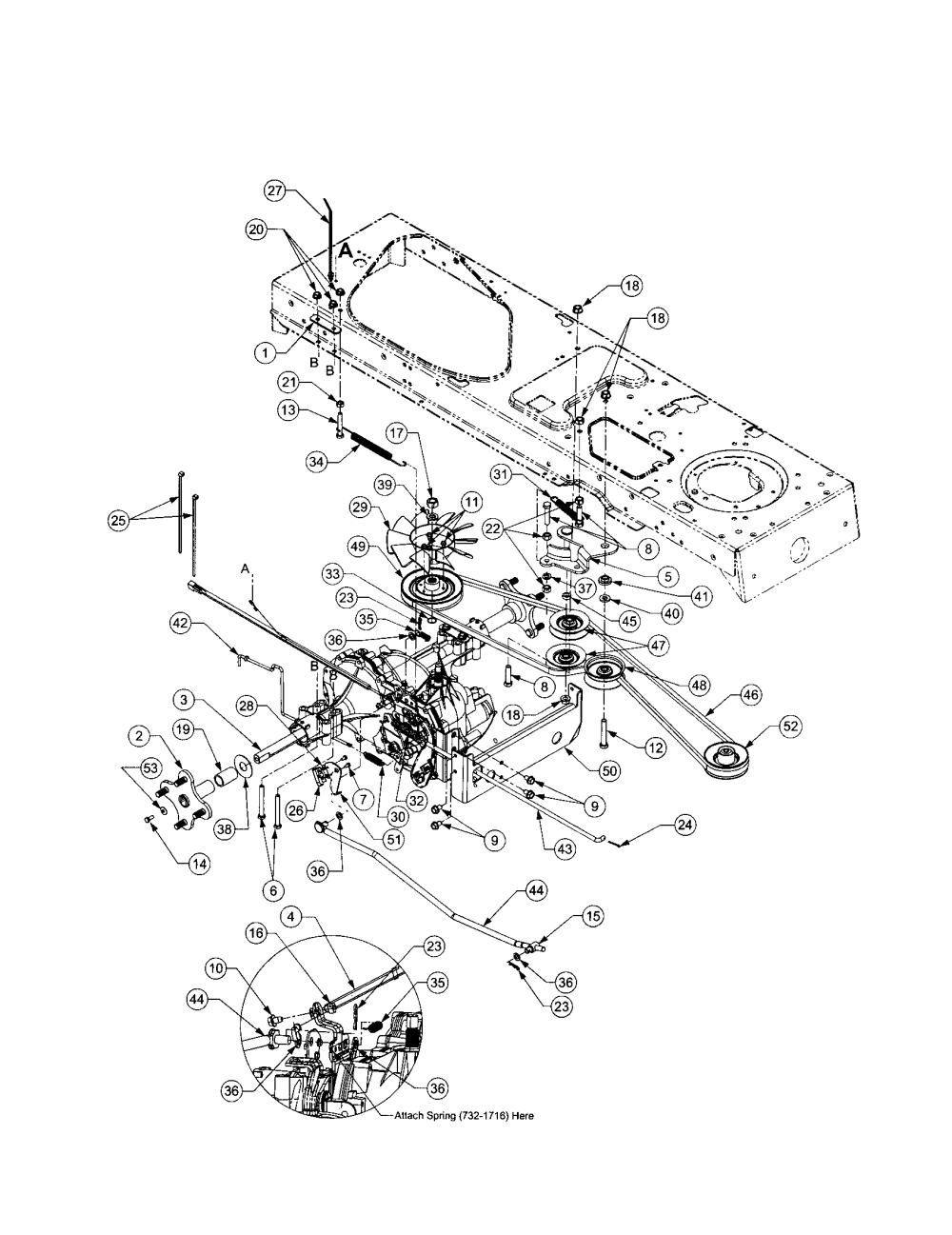 medium resolution of  cub cadet model lt1022 lawn tractor genuine parts on columbia wiring diagrams