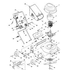 Bolens Lawn Tractor Parts Diagram Free Auto Wiring Diagrams Electric Mower Model 18a V17 765 Sears