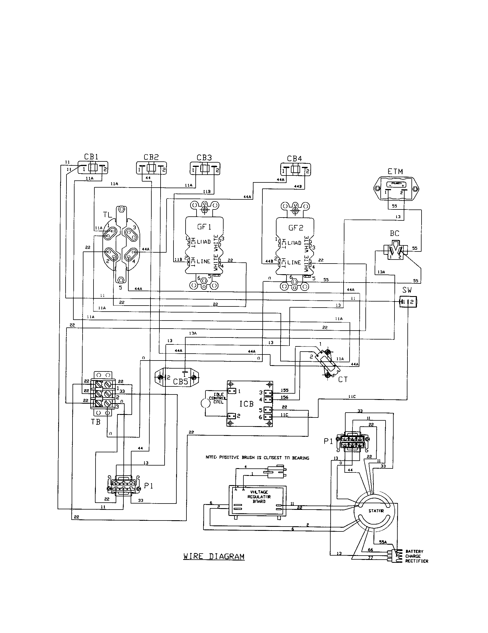 16 Hp Brigg Part Diagram